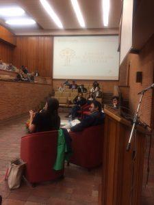 """Panel de discusión: """"Jurisdicción Agraria en Colombia""""."""