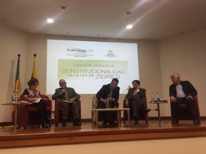 """Panel de discusión """"Progresividad y Ley de ZIDRES"""""""